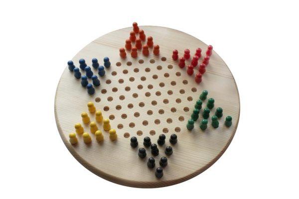 Настольная игра уголки (халма)